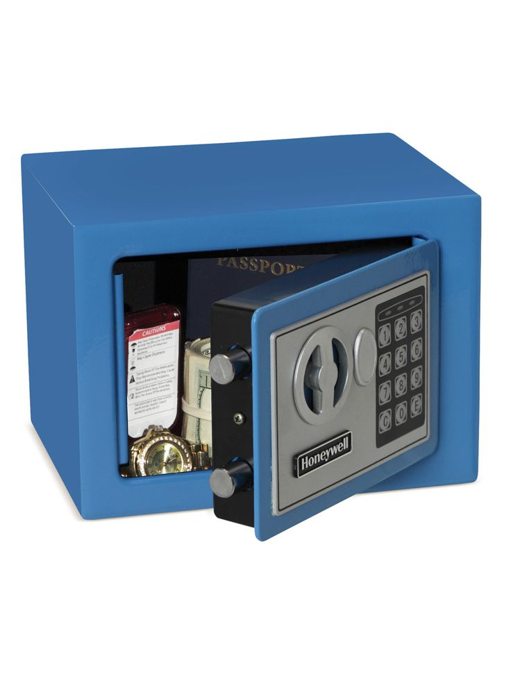 Colored Digital Security Safe by Honeywell at Gilt