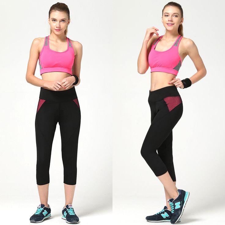 Новый женщин фитнес йога на полях леггинсы женщин тренировки Whorts пляжные шорты женщины фитнес йога шортыкупить в магазине S&T Global Sport StoreнаAliExpress