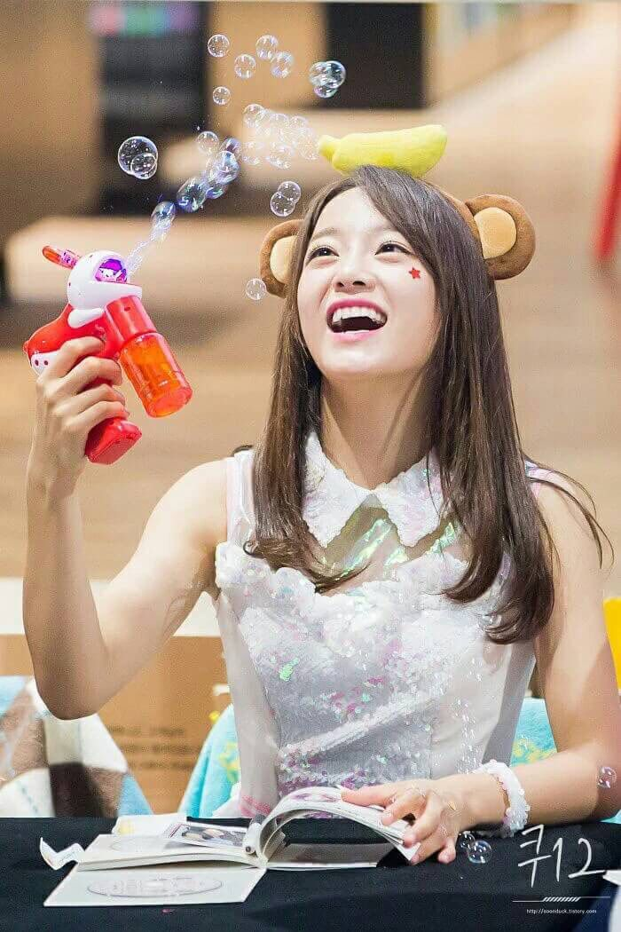 I hope I can always see your beautiful smile and your happiness Sejeong❤️