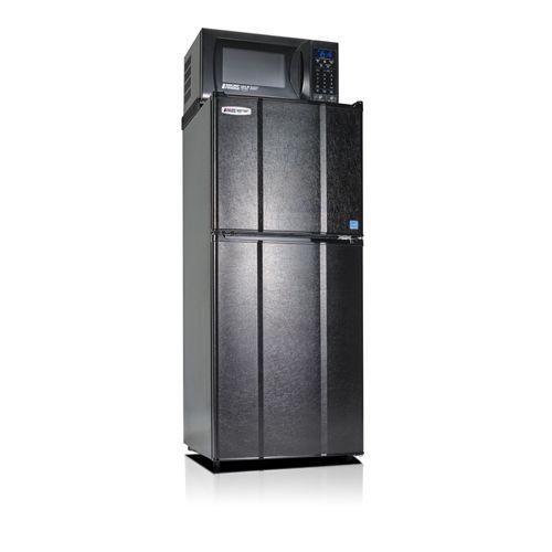 MicroFridge 4.8 Cu. Ft. Refrigerator and Freezer with 700 watt Microwave-Black