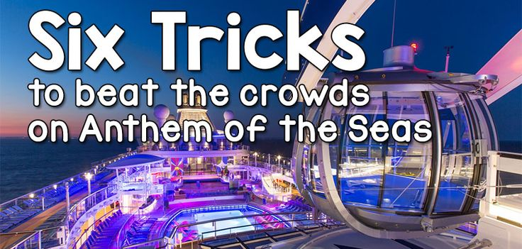 Royal Caribbean's Anthem of the Seas offers so many innovative and fun activites onboa...
