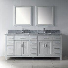 Bathroom Vanities Two Sinks 90 best bathroom images on pinterest   bathroom vanities, bathroom
