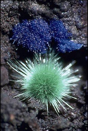 Malachite and Azurite - Arizona