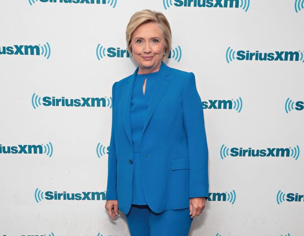 Hillary Clinton Photos - Former Secretary of State Hillary Clinton joins SiriusXM for a town hall event hosted by Zerlina Maxwell at SiriusXM Studios on September 25, 2017 in New York City. - Hillary Clinton Joins SiriusXM For A Town Hall Event Hosted By Zerlina Maxwell