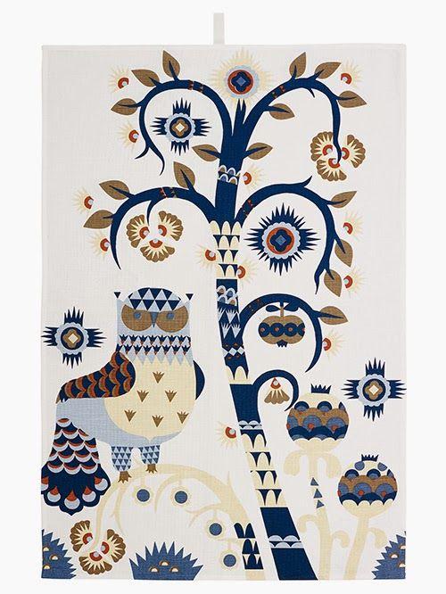 Taika tea towel by Iittala via Uusi muste
