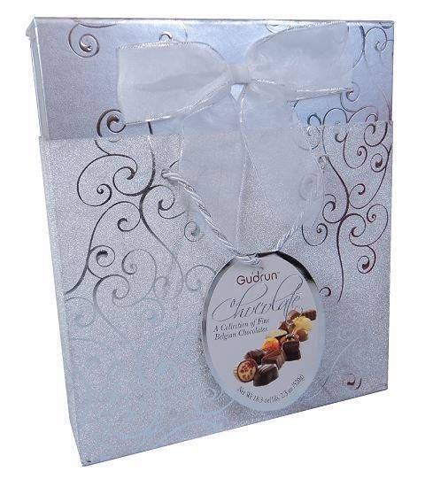 GUDRUN BELGIAN CHOCOLATE BOX BAG ASSORTED CHOCOLATES #GUDRUN