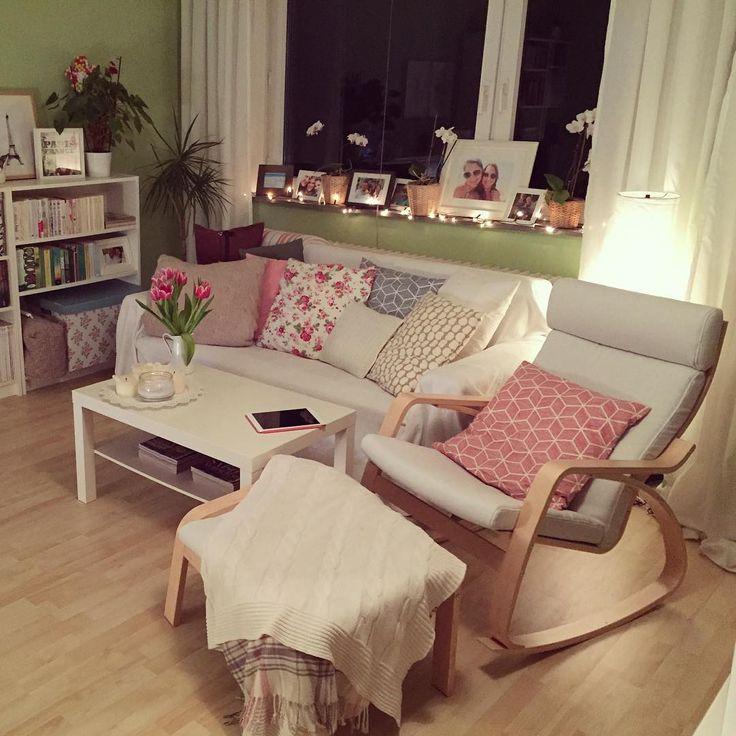 top 25+ best wohnzimmer gemütlich ideas on pinterest | weiße sofas