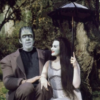 Favorite Tv, Halloween Costumes, Families Costumes, Herman, Lilies Munsters, The Munsters, Classic Monsters, Costumes Ideas, Couples Costumes