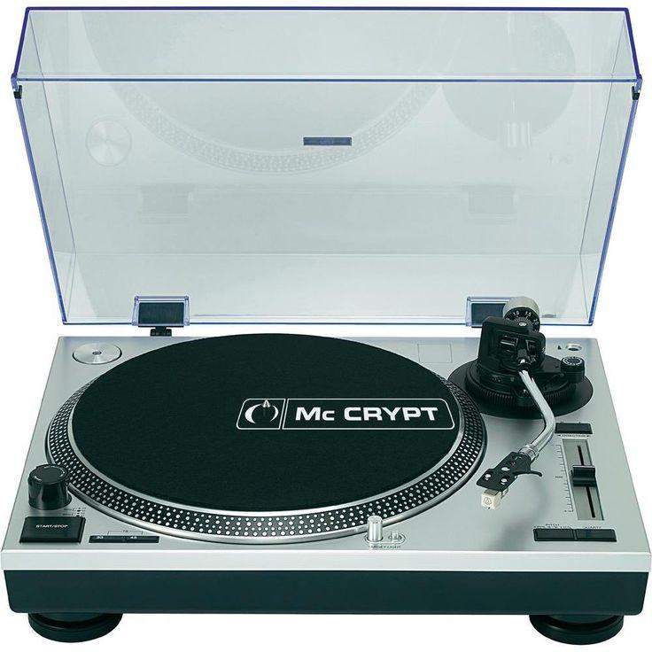 MC CRYPT DJ-U3565 S DJ-PLATTENSPIELER