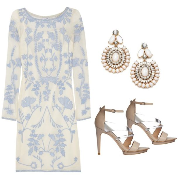 Wedding Guest Attire: 8 Chic Outfits For Daytime & Evening Nuptials.  Pinterest/mgrbld