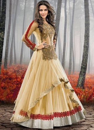 Neha Cream With Silver Petch Border Boliiywood Salwar http://www.angelnx.com/Salwar-Kameez/