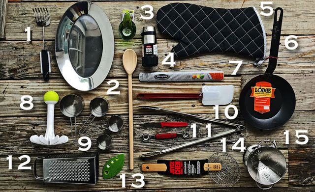 The Nifty Fifteen | Essential kitchen tools | LaBelle's General Store