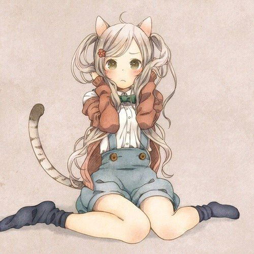 "Арт по фандому: ""Неко"" в стиле аниме  #аниме #арт #рисунок #изображение #картинка #неко #девушк_с_ушками #девушка #ня #anime #art #picture #drawing #girl_with_ears #girl #nya"