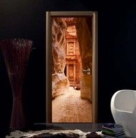 Adesivo per porte Petra