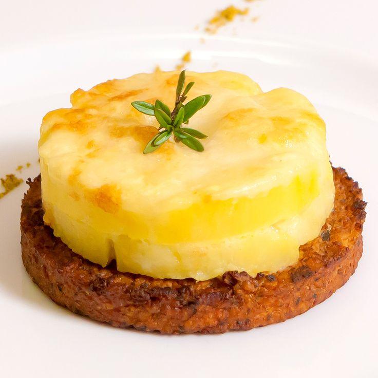 Burger di soia con gateau di patate | Sojasun