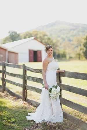 Rustic fence fence and getting married on pinterest for Southern country wedding dresses