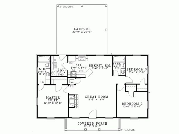 Cute and simple | House Plans | Pinterest | House