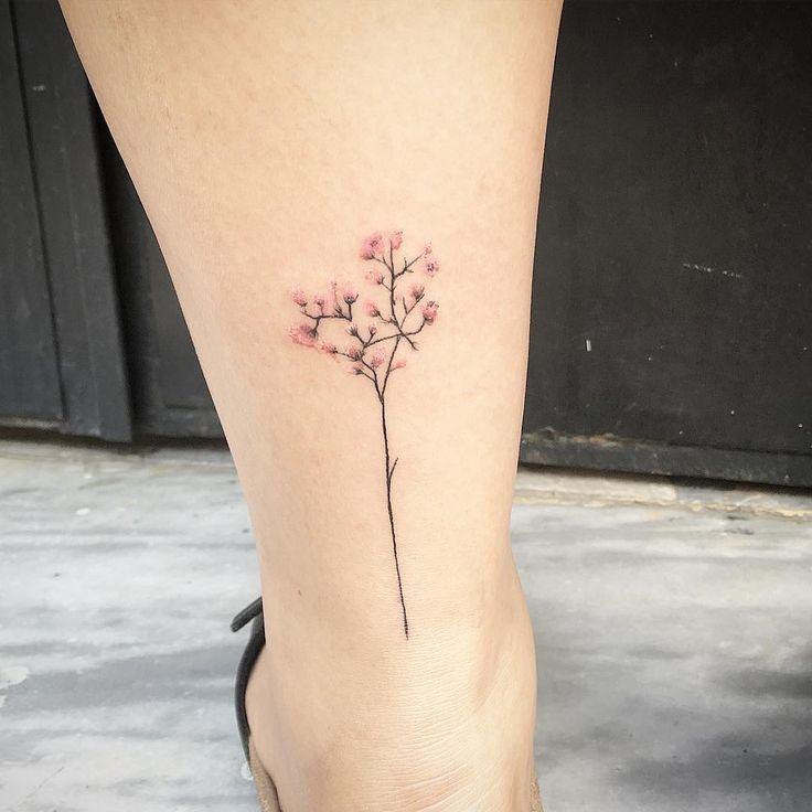 Doğallığı ve Zarafetiyle Vücudunuzda Çiçekler Açtıracak 29 Enfes Botanik Dövmesi - onedio.com