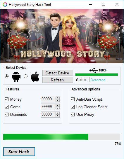 hollywood story mod apk unlimited money