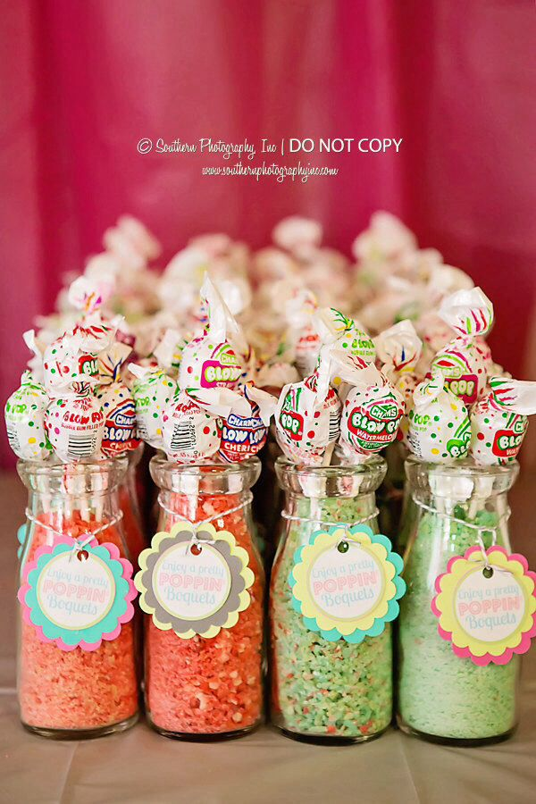 Ready To Pop Baby Shower Chevron Thanks Poppin Boquets By Favor Tags Favor