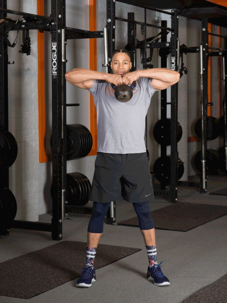 1. Sumo Deadlift With High Pull #kettlebell #workout http://greatist.com/move/kettlebell-workout-exercises-to-build-total-body-strength