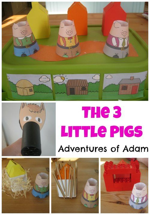 The Three Little Bigs Sensory Storytime (from Adventures of Adam)