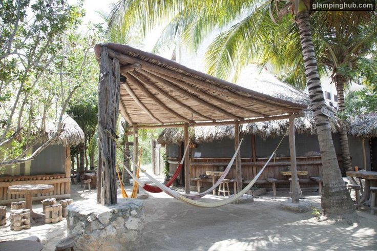Luxury Huts Mexico | Sand Floored Beach Huts on Isla Holbox of Mexico