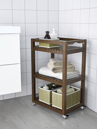new arrival bathroom trolley 3 tiers bathroom storage corner shelf wheels added towel rack, View towel rack, Bridge Product Details from Fuzhou…