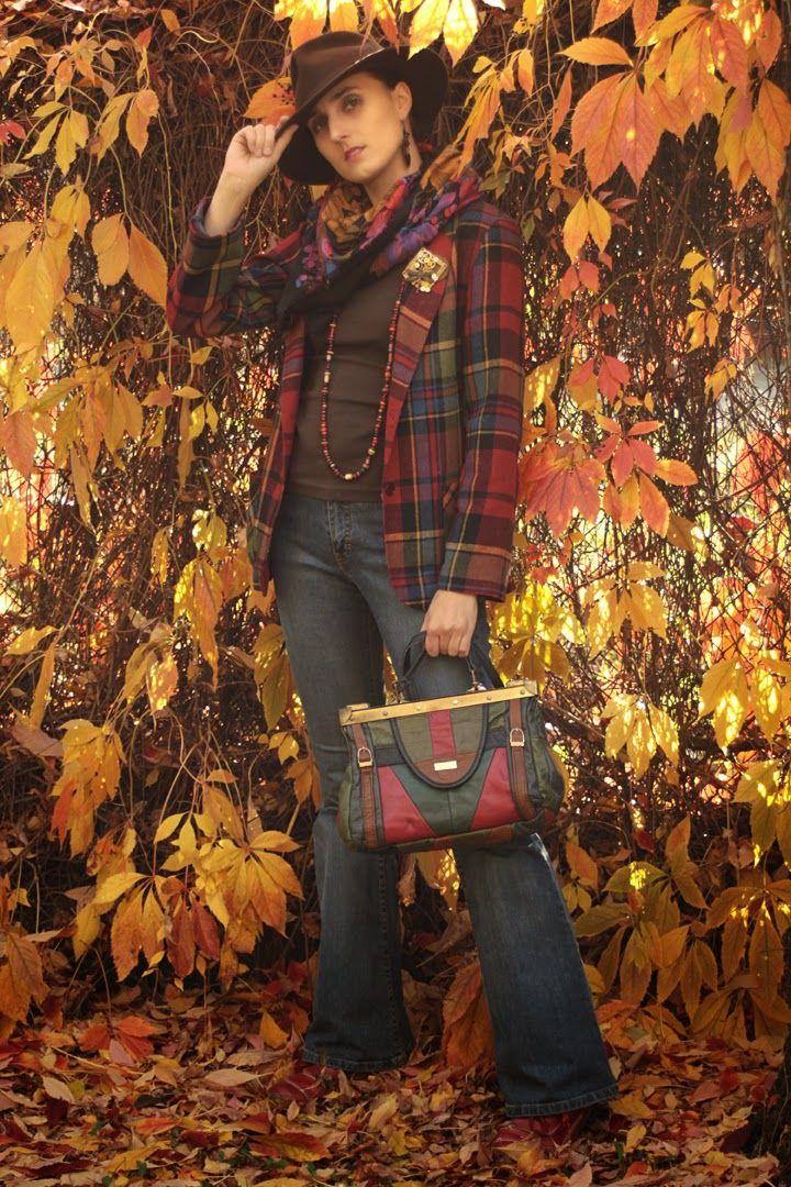 Czym szafa bogata- vintage fashion atumn look