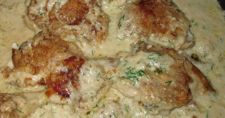 Garden veggies are ready and there is nothing better for that first fresh meal than Chicken cooked in Cream and Dill like the Ukees do. 5-6...