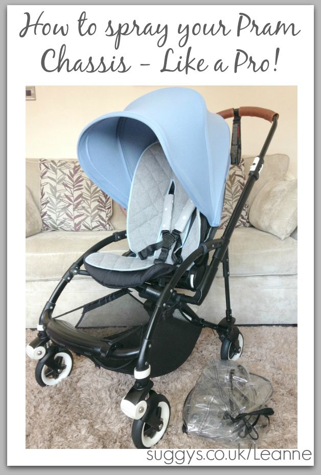 This has got to the BEST Tutorial with lots of step by step instructions and images on How to Spray Paint your Pram Chassis - Like a Pro!...