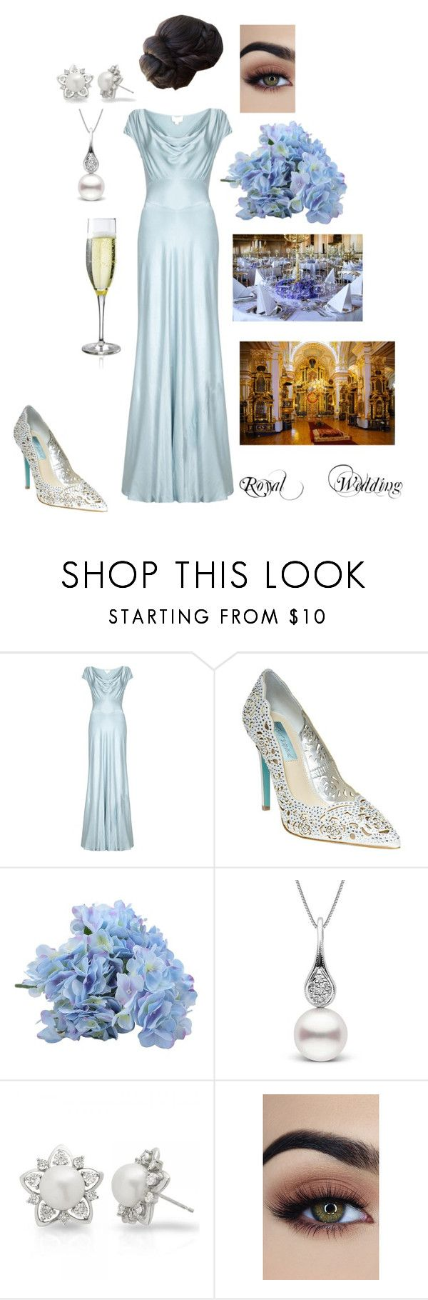 """""""Royal Religious Ceremony & Reception"""" by terrikahan on Polyvore featuring Ghost, Betsey Johnson and Allurez"""