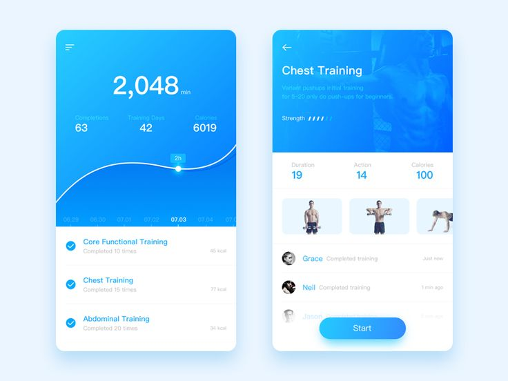 This is a conceptual design of a fitness app, you can choose your desired fitness program, you can also develop exclusive fitness classes. It records the total duration of your training, and calcul...