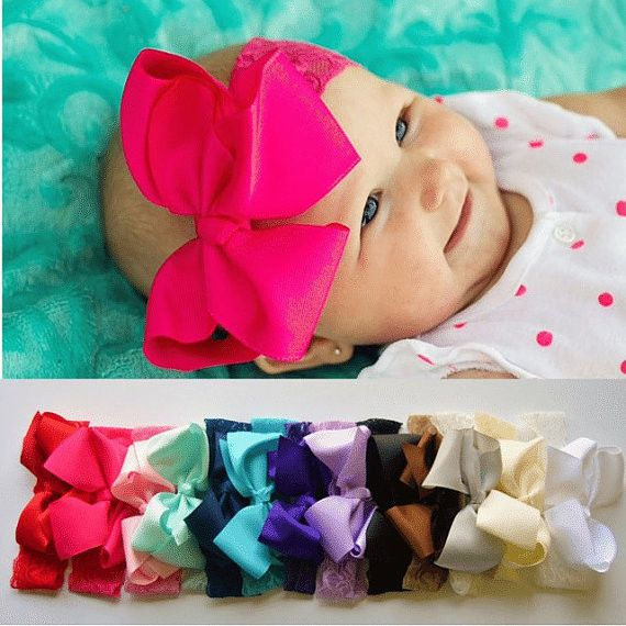 Jessie- 5 Inch Lace Headband - Bows For Littles, LLC