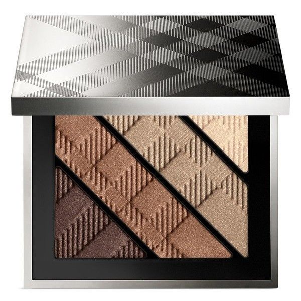 Burberry Complete Eye Palette Gold ($62) ❤ liked on Polyvore featuring beauty products, makeup, beauty, eyeshadow, gold, burberry cosmetics, burberry, palette makeup, highlight makeup and burberry makeup