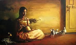 indian girl painting - Google Search