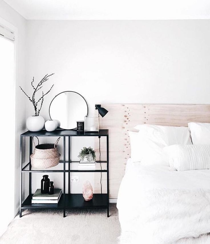 "6,253 Likes, 39 Comments - Immy + Indi (@immyandindi) on Instagram: ""Minimalist bedroom perfection by the gorgeous @juthamat_by_jem """