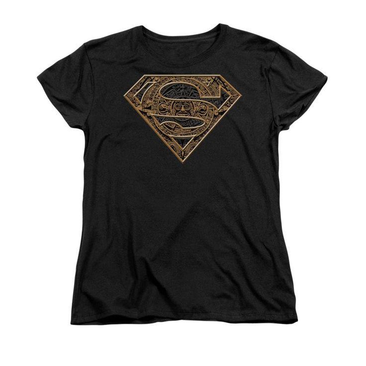 Superman - Aztec Shield Women's T-Shirt