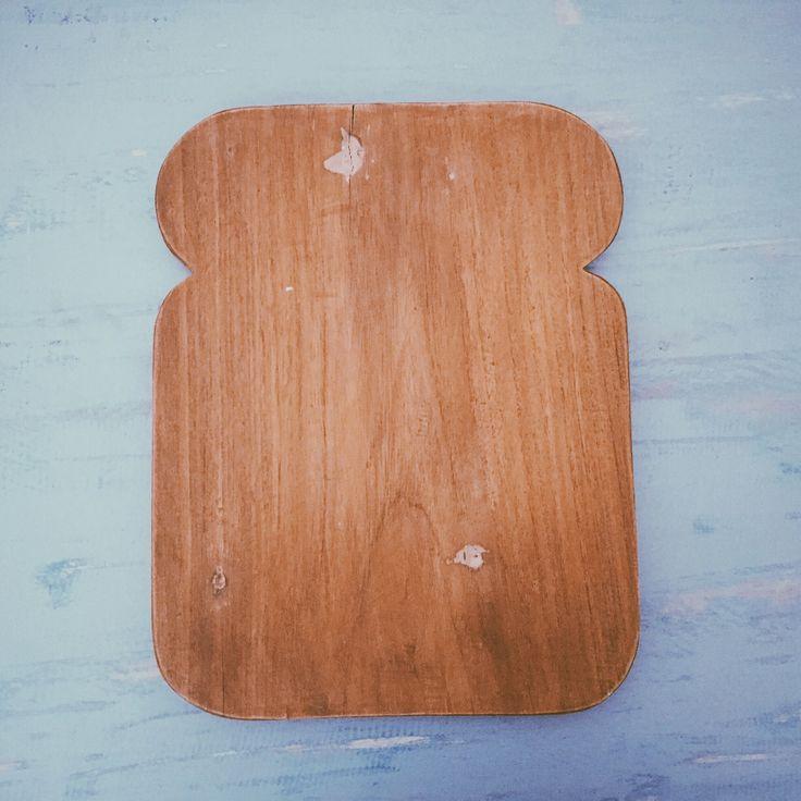 Bread board made of repurposed wood  #HandyBunny #Earthmade  #Handmade