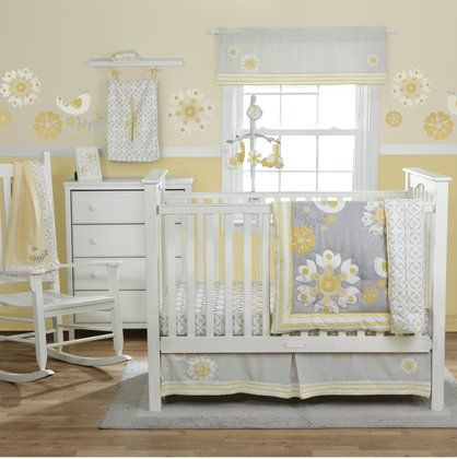 Yellow baby's room