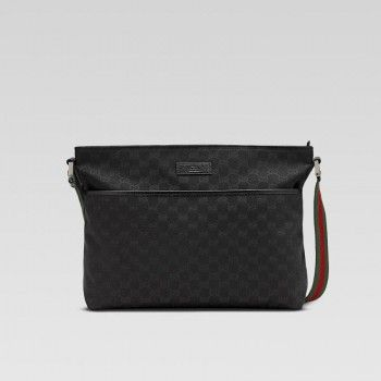 gucci 189751 f4f5r 9791 medium messenger bag gucci herren reisen gucci herren reisen. Black Bedroom Furniture Sets. Home Design Ideas