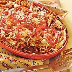 ... chicken taco casserole makes a great choice for your family's Mexican