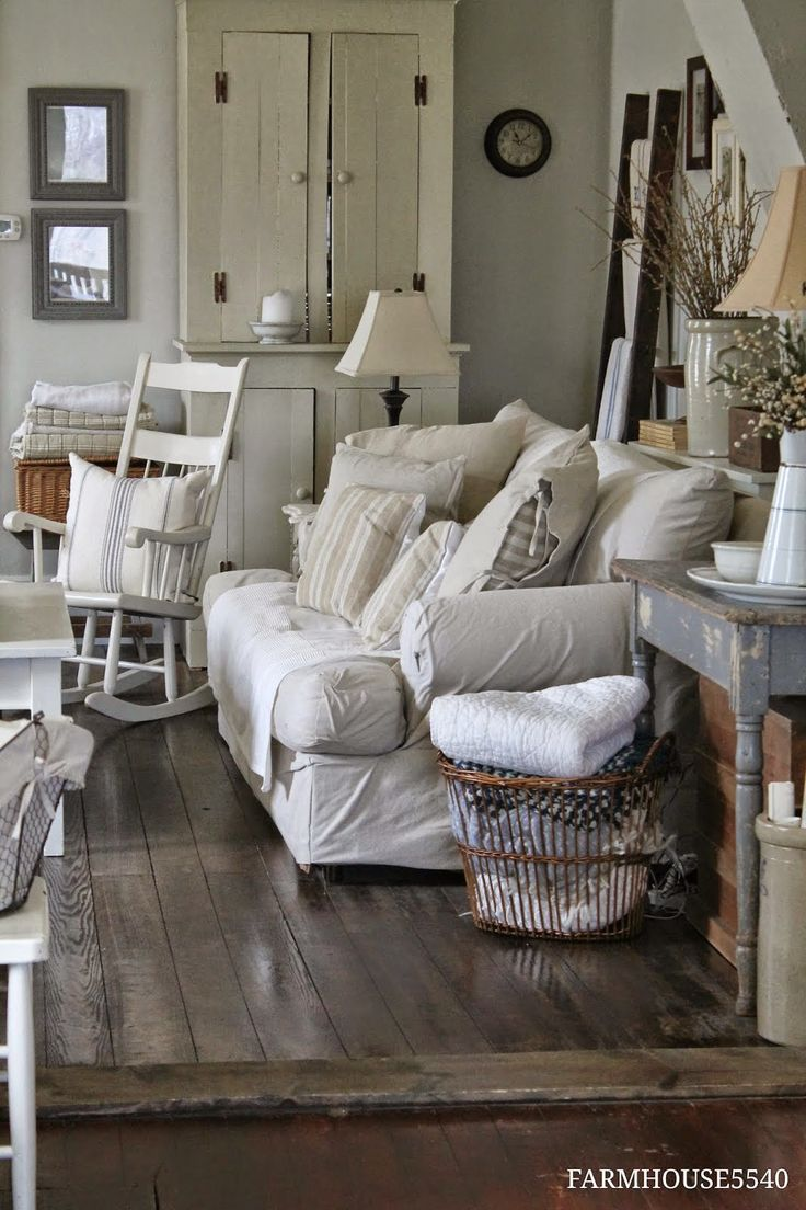 Comfy Farmhouse Living Room Designs To Steal: 87 Best Primitive Style Living Rooms Images On Pinterest