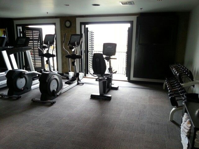 Excercise Room.  Love the open air concept.  Enjoyed the  cool fresh air.