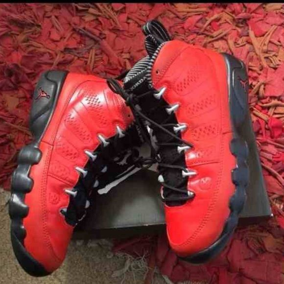 Custom Jordan 9s Brand new... These were the baron 9s and were customized. Very nice and rare Jordan Shoes Sneakers