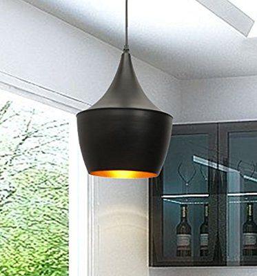 ペンダント、ブラック仕上げ、(別売)1×60WマックスE27の電球をハンギング工業用照明レトロアンティークペンダントランプペンダント照明E27 LEDシーリングライトメタルペンダントライト