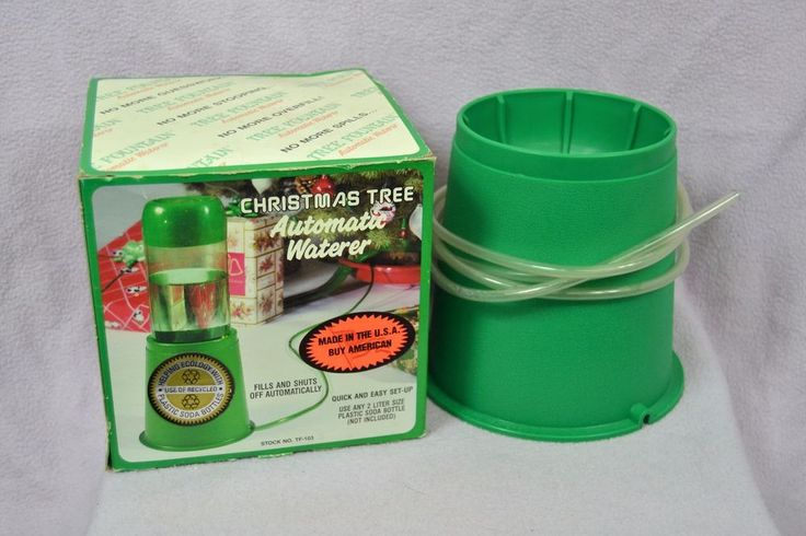 Christmas Tree Automatic Waterer Uses 2-Liter Bottle Made in USA #MolorProducts
