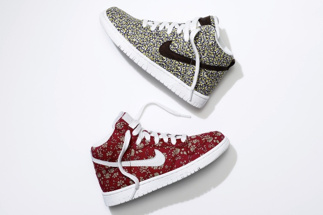 NikeID with Liberty of London Options