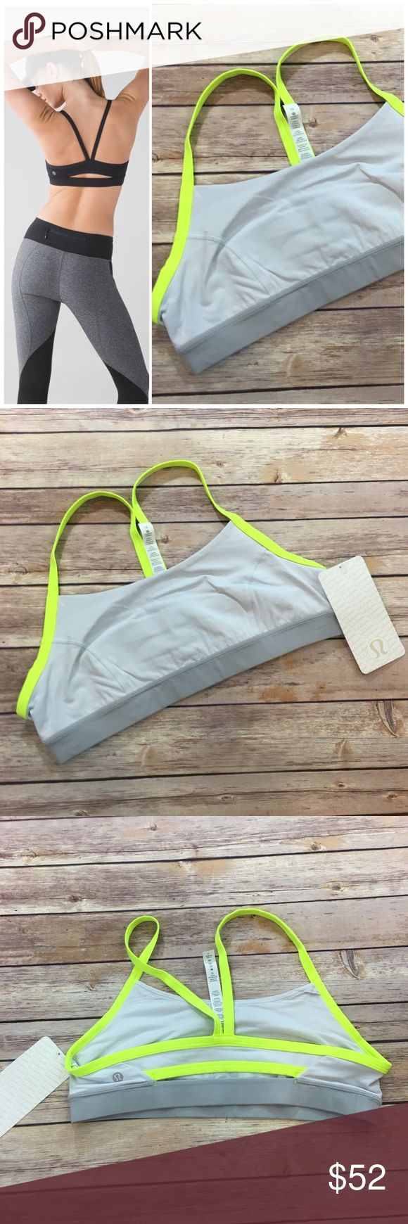 NWT Lululemon Sports Bra NWT Lululemon Rise and Run Sports Bra. Made of 77% Nylon and 23% elastane lululemon athletica Intimates & Sleepwear Bras