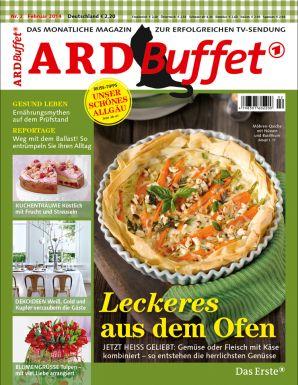 ARD Buffet Magazin 2/2014 Leckeres aus dem Ofen